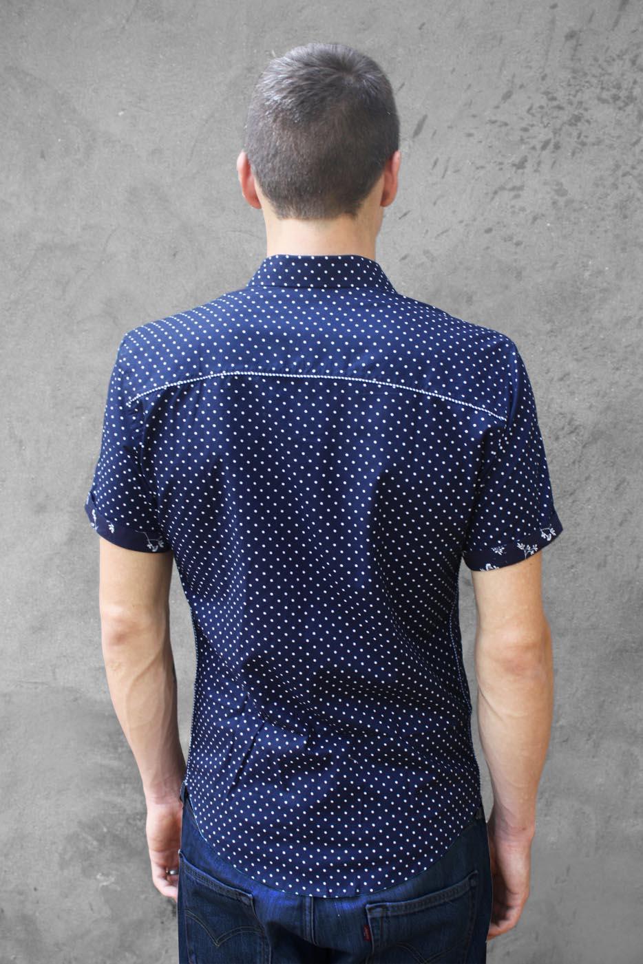 ee1b352546 Baïsap - Camisa de lunares