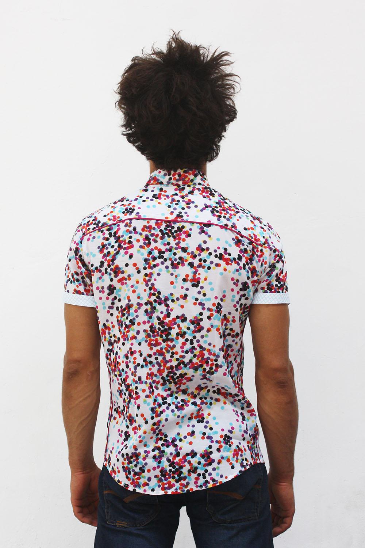 a0e8191dc8 Baïsap - Camisa lunares hombre