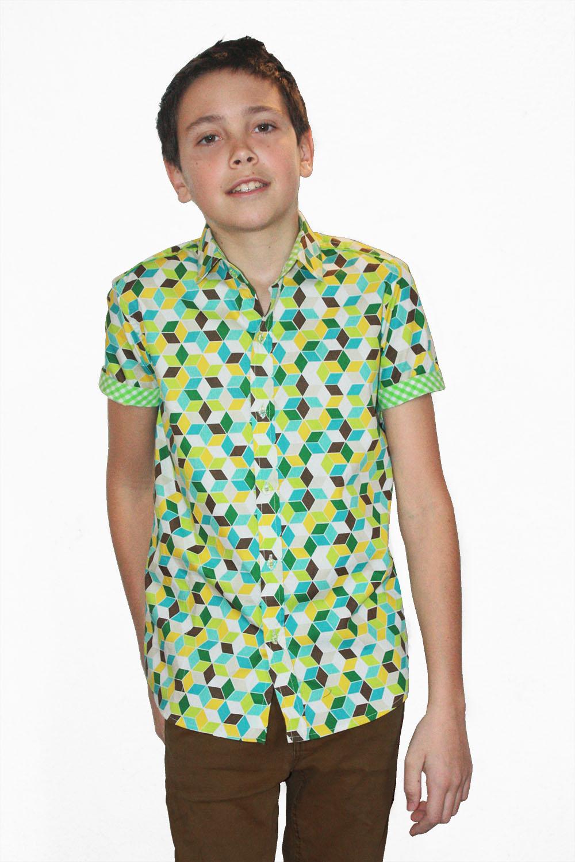 8fd841cedec Baïsap - Camisa verde niño